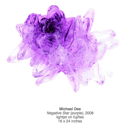 Michael Dee's Negative Star (purple), 2008