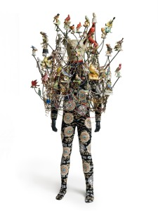 Soundsuit, 2009 Mixed media 89h x 46w x 34d in.